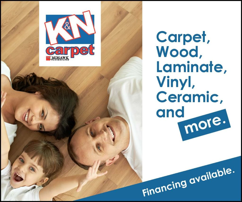 K&N Carpet digital advertisement
