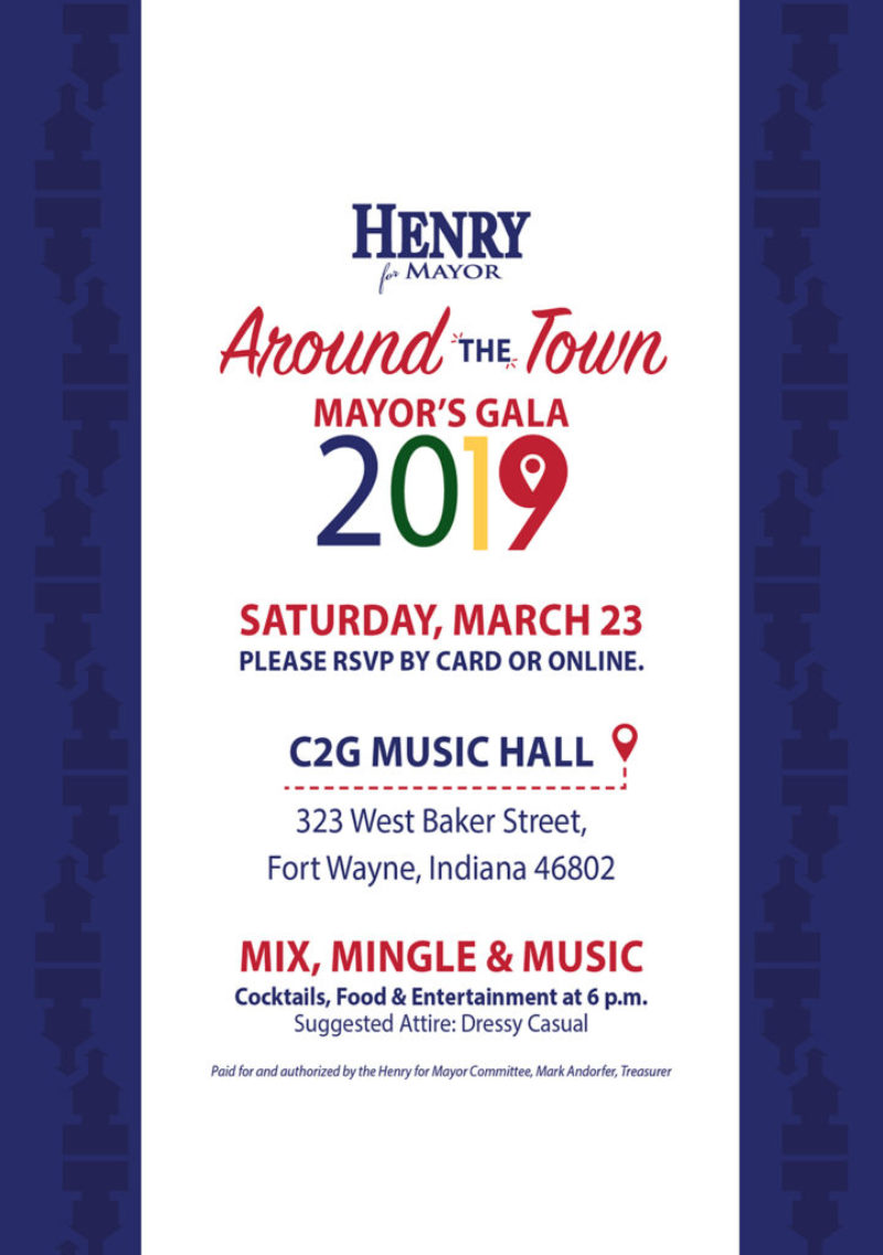 2019 Mayor's Gala Invitation