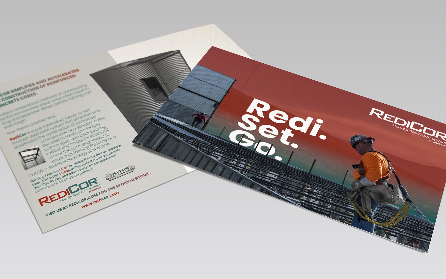 RediCor postcard campaign