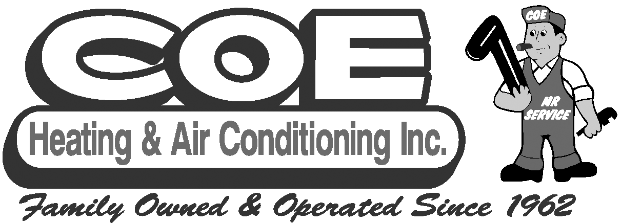 Coe Heating & Air logo variation