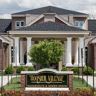 Hoosier Village website preview